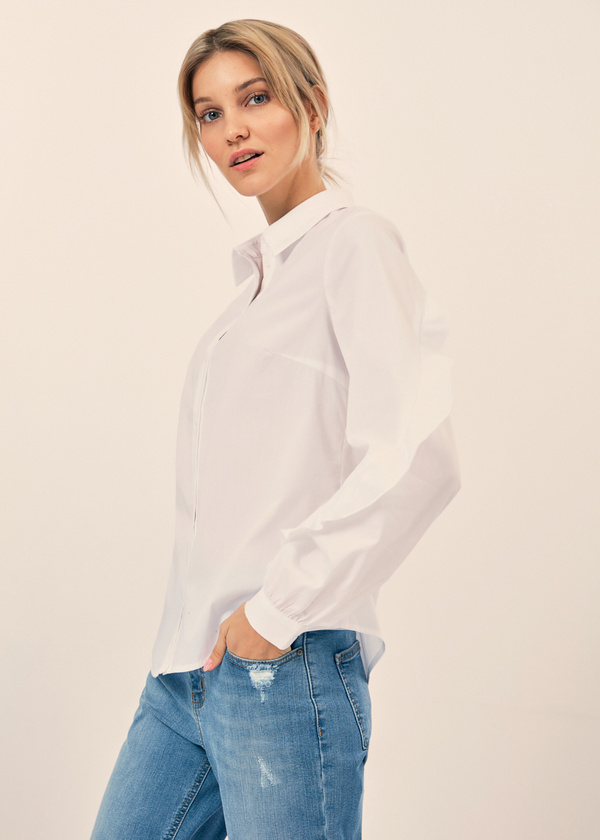 Блузка с воланами на рукавах - фото 5