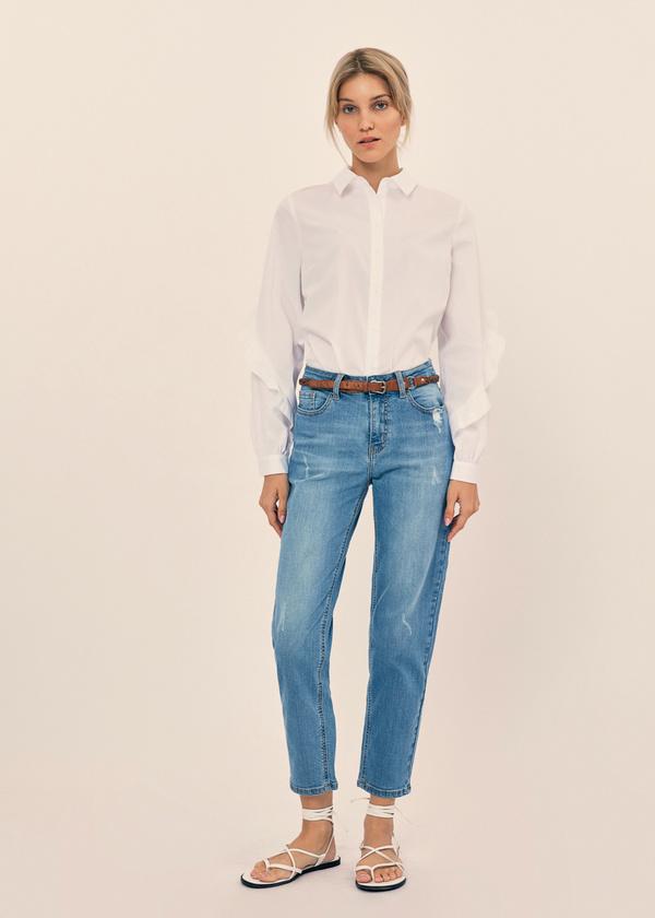 Блузка с воланами на рукавах - фото 6