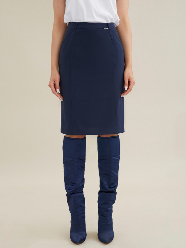 Облегающая юбка-миди - фото 5