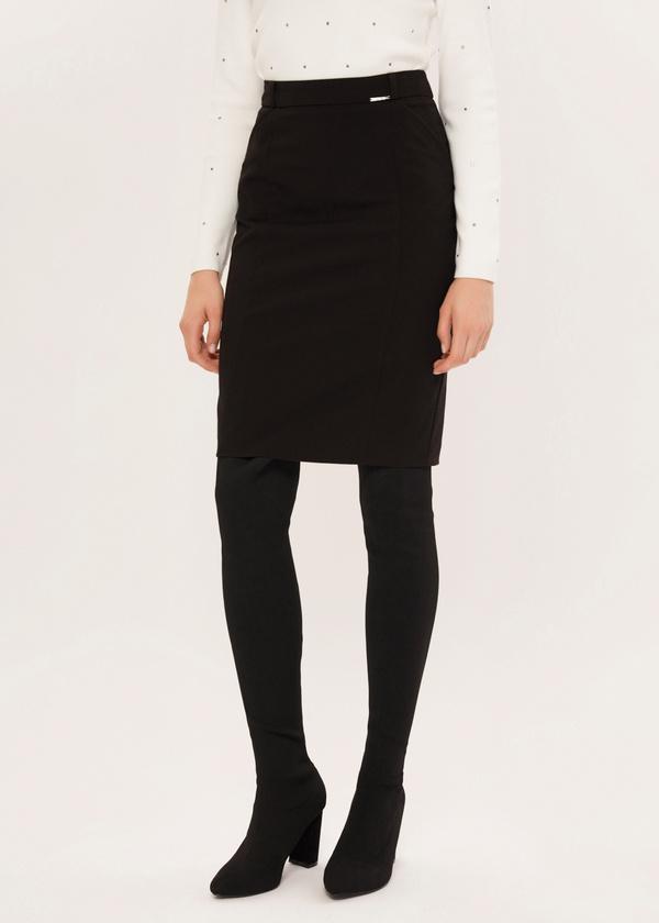 Облегающая юбка-миди - фото 3