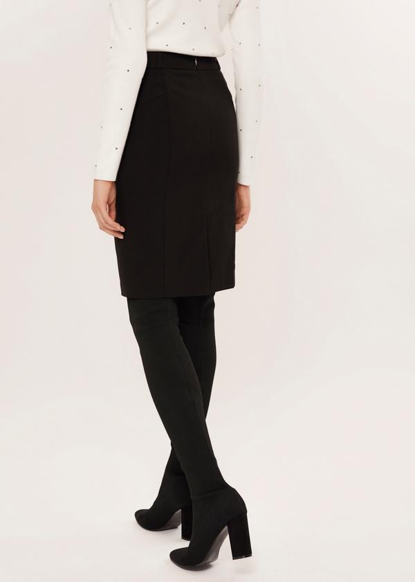 Облегающая юбка-миди - фото 4