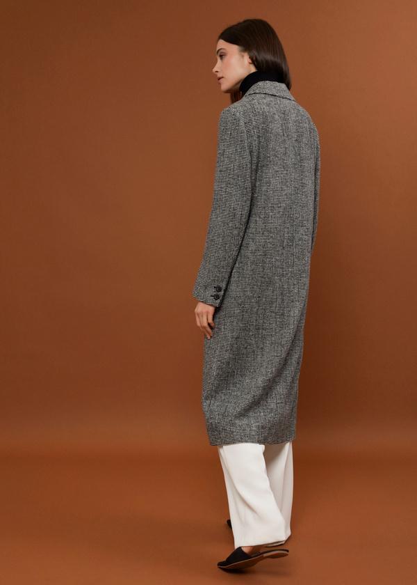 Пальто с врезными карманами - фото 4