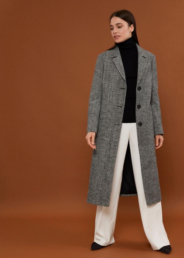 Пальто с врезными карманами - фото 5