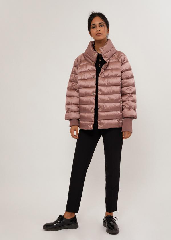 Стеганая куртка с манжетами - фото 1