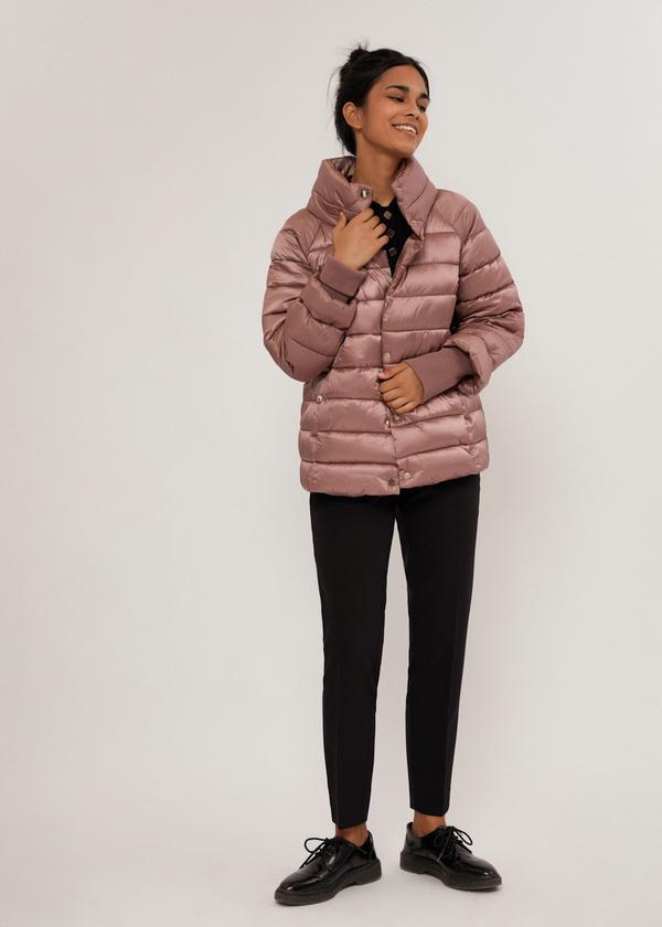 Стеганая куртка с манжетами - фото 6