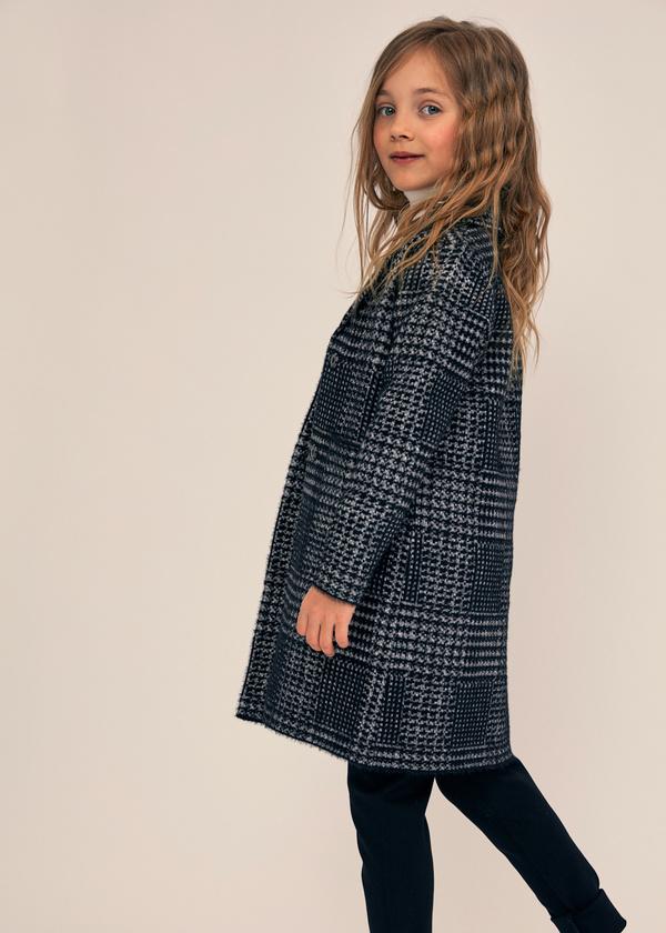Двубортное пальто для девочек - фото 2