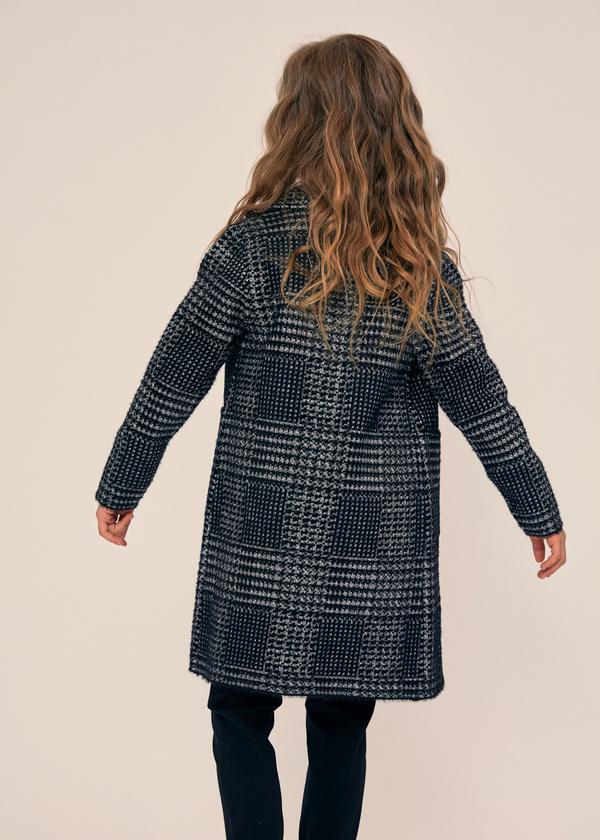 Двубортное пальто для девочек - фото 3