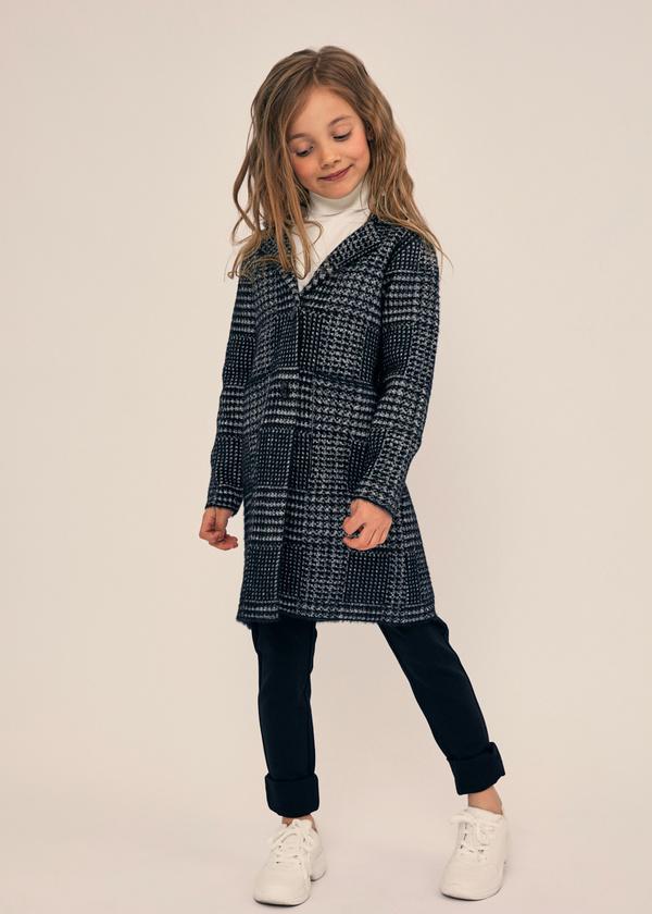 Двубортное пальто для девочек - фото 4