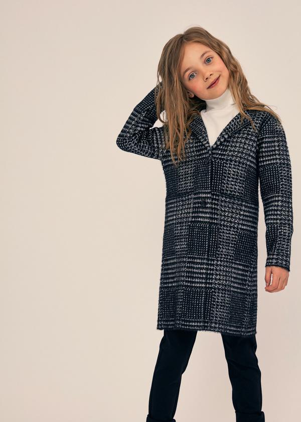 Двубортное пальто для девочек - фото 6