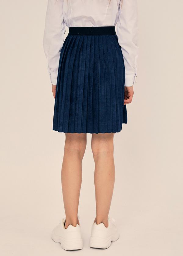 Плиссированная юбка с эластичным поясом - фото 4