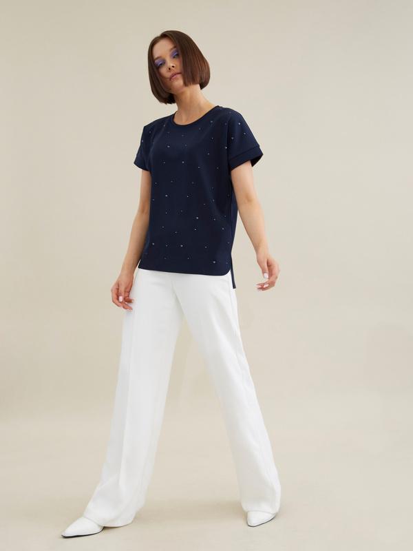 Блузка с бусинами - фото 5