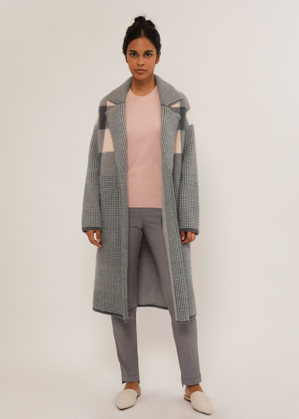 Пальто на пуговице - фото 1