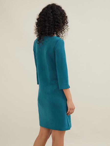 Платье-мини с подвеской - фото 6
