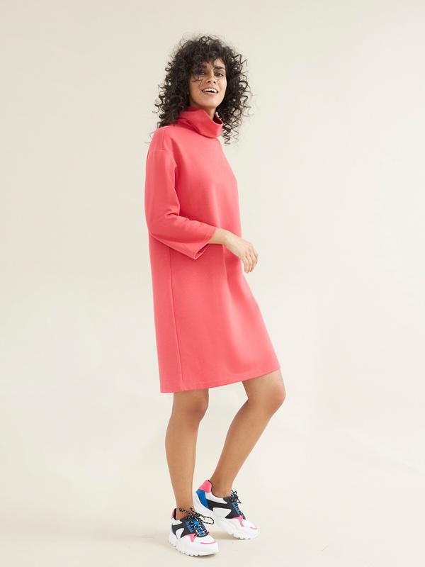Платье со съемной брошью - фото 3