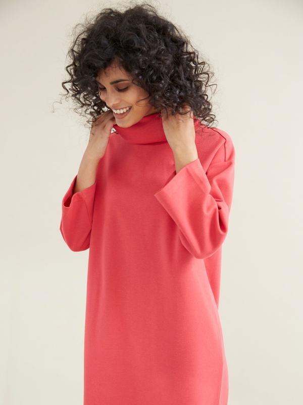 Платье со съемной брошью - фото 5