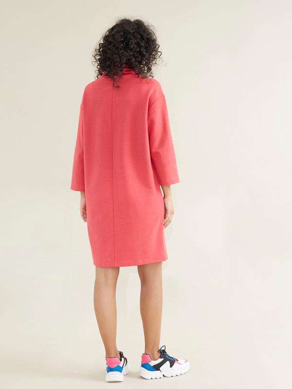 Платье со съемной брошью - фото 6