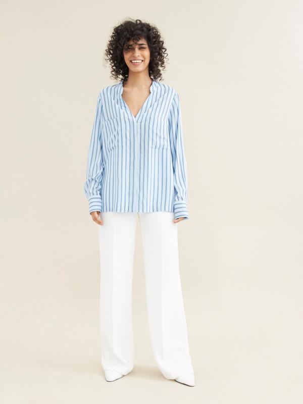 Блуза в полоску - фото 6
