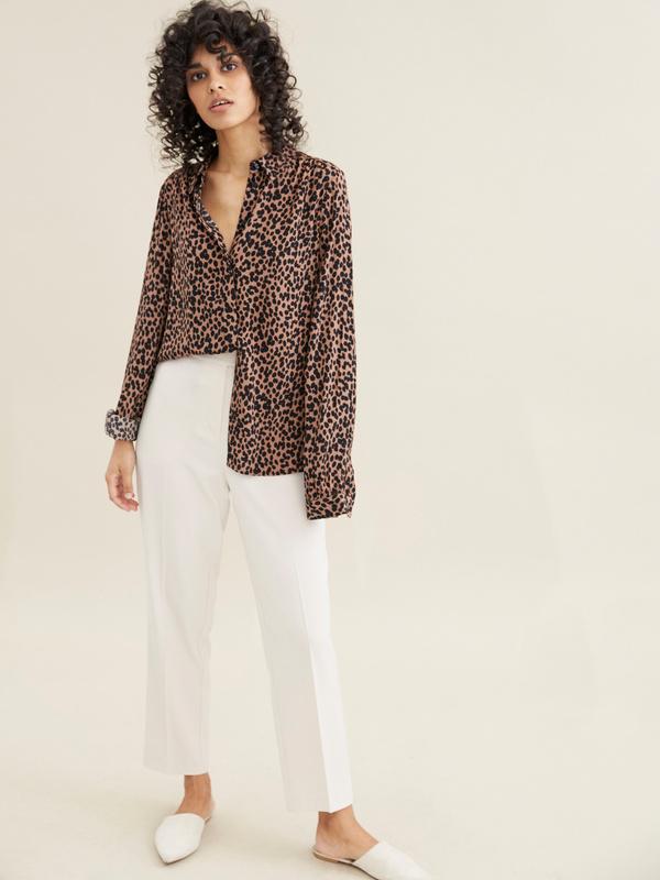 Блузка с леопардовым принтом - фото 3