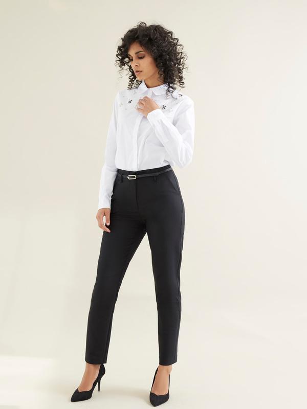 Блузка с вышивкой из страз - фото 6