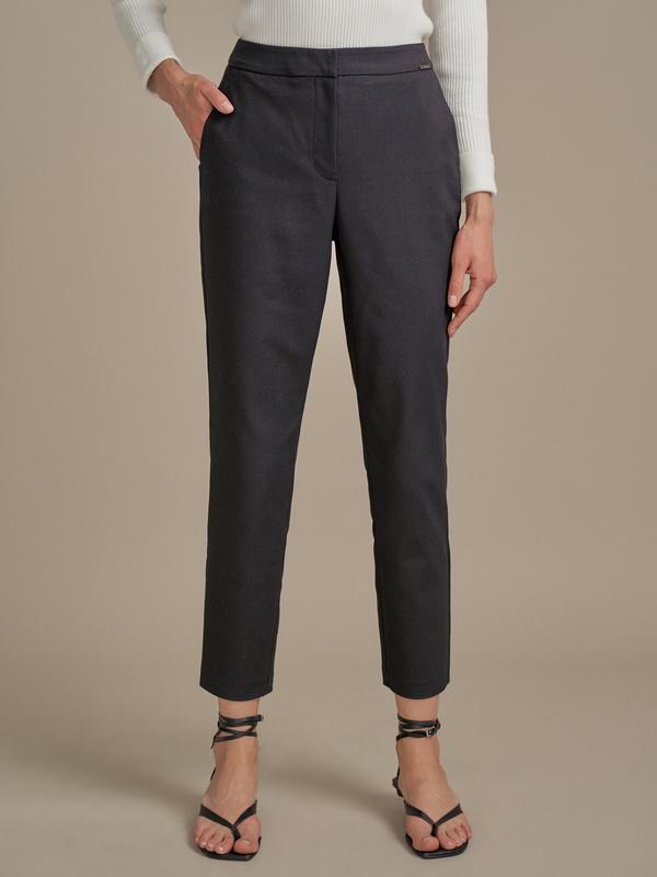 Зауженные брюки в крапинку - фото 2