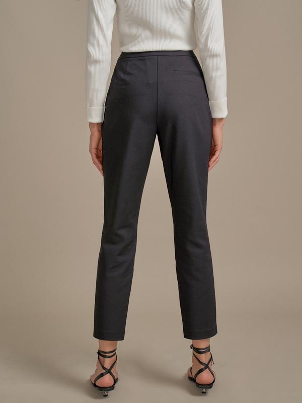 Зауженные брюки в крапинку - фото 3