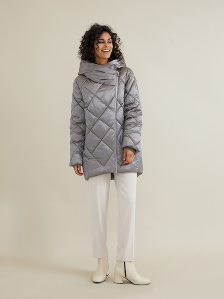 Стеганое пальто - фото 2