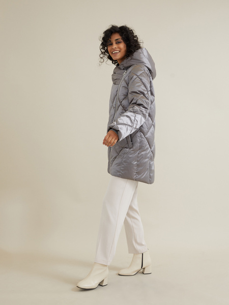 Стеганое пальто - фото 3