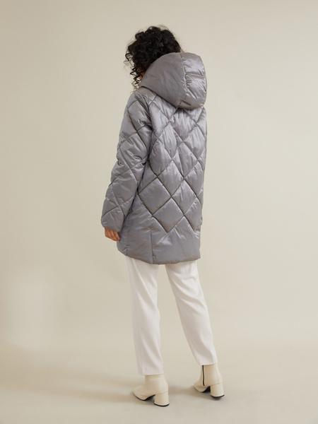 Стеганое пальто - фото 4