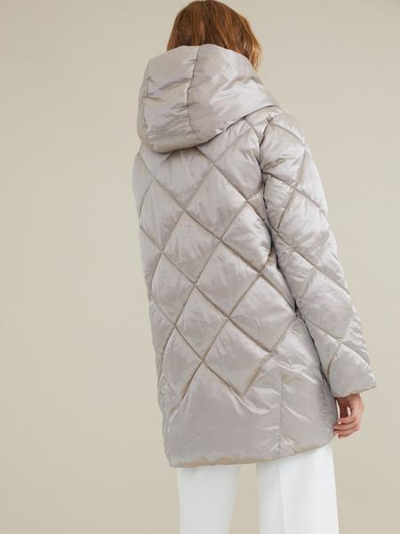 Стеганое пальто - фото 6