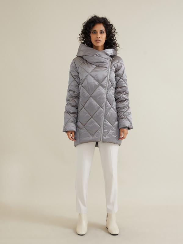 Стеганое пальто - фото 1