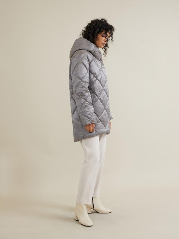 Стеганое пальто - фото 5