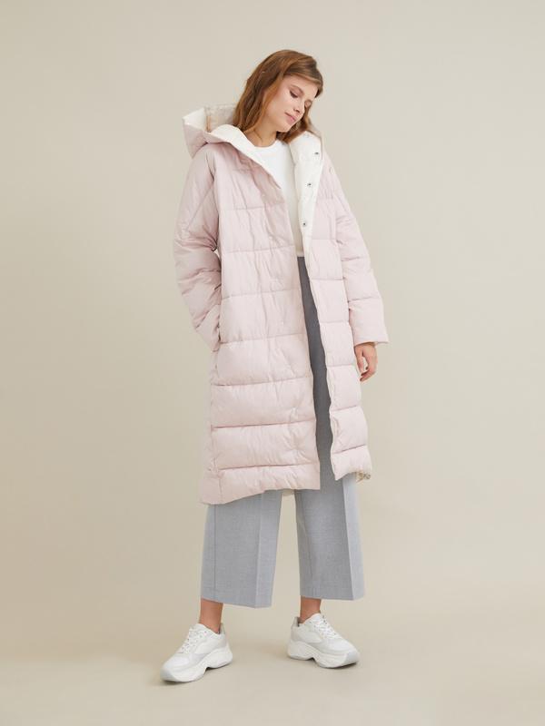 Стеганое пальто оверсайз - фото 3