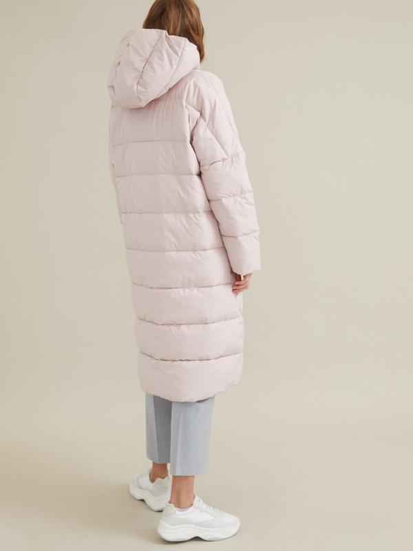 Стеганое пальто оверсайз - фото 6