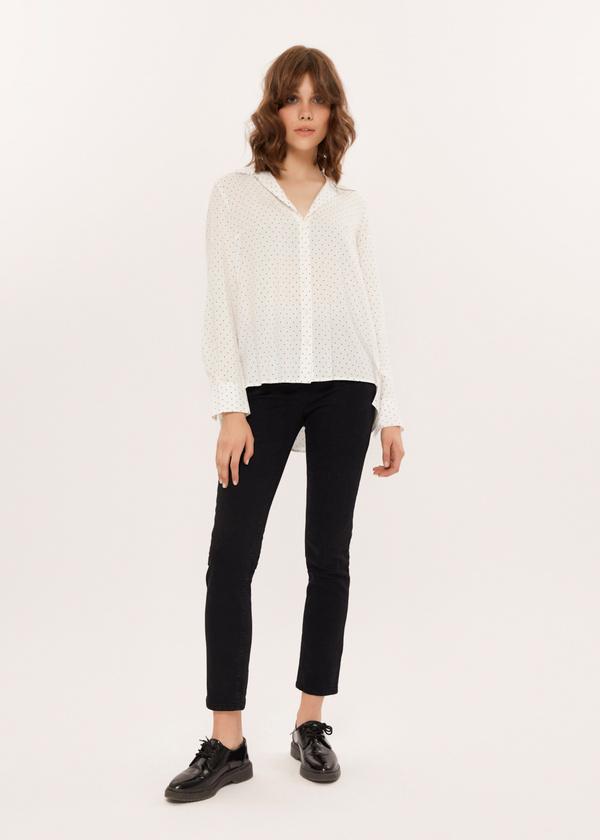 Зауженные джинсы  - фото 1