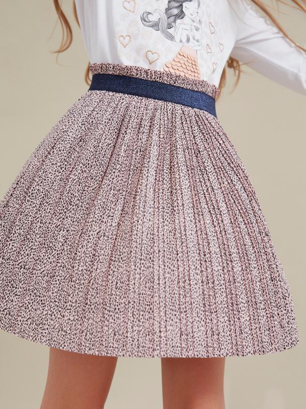 Плиссированная юбка для девочек - фото 3