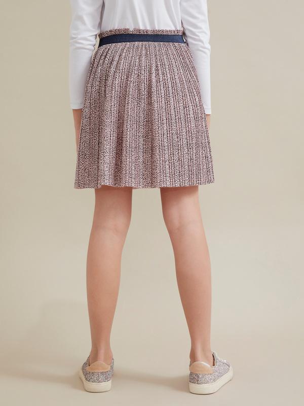 Плиссированная юбка для девочек - фото 4