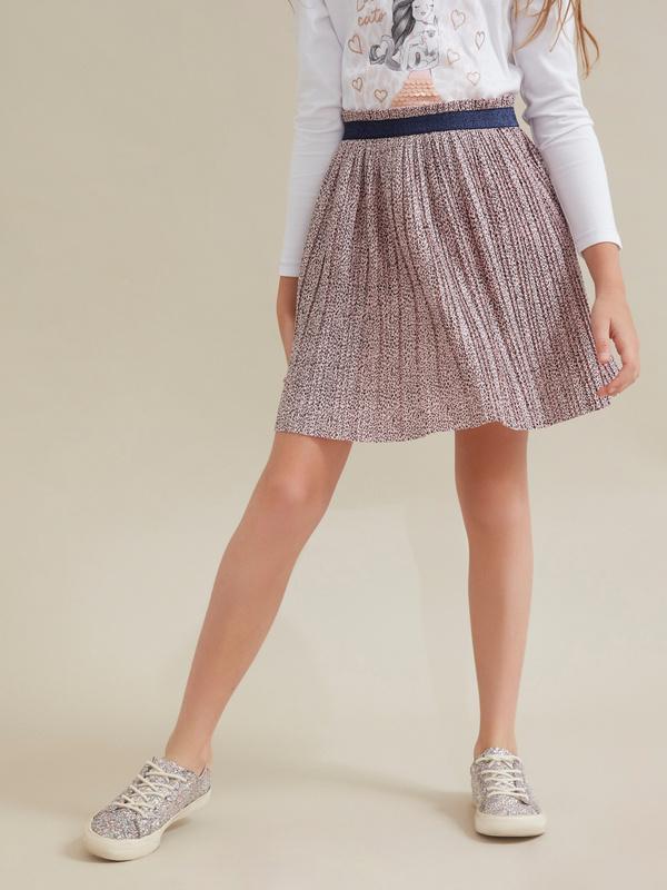 Плиссированная юбка для девочек - фото 6