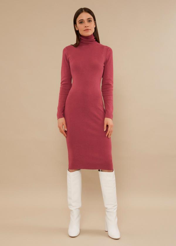 Облегающее платье вискоза - фото 1