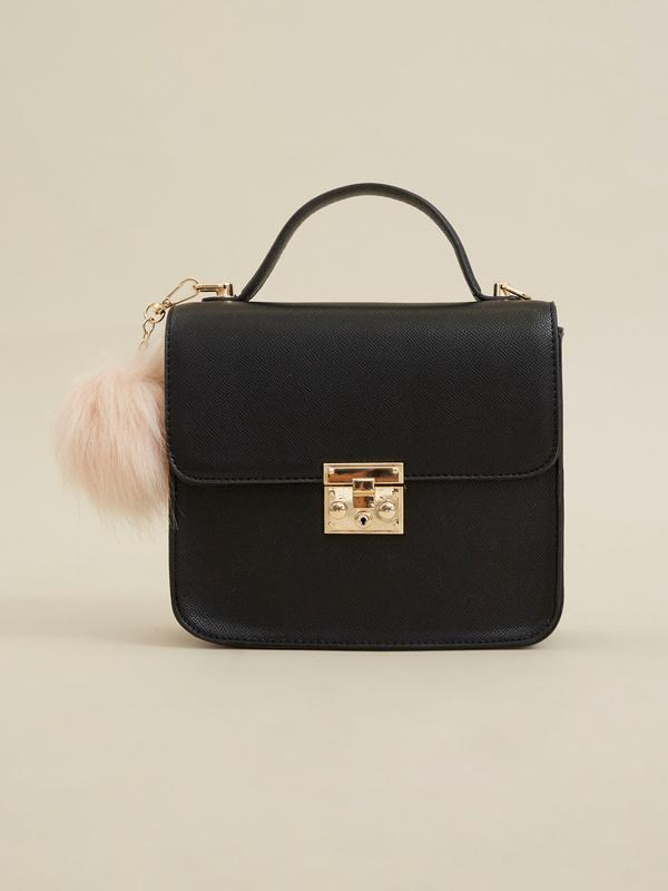 Мини-сумка с брелоком - фото 1