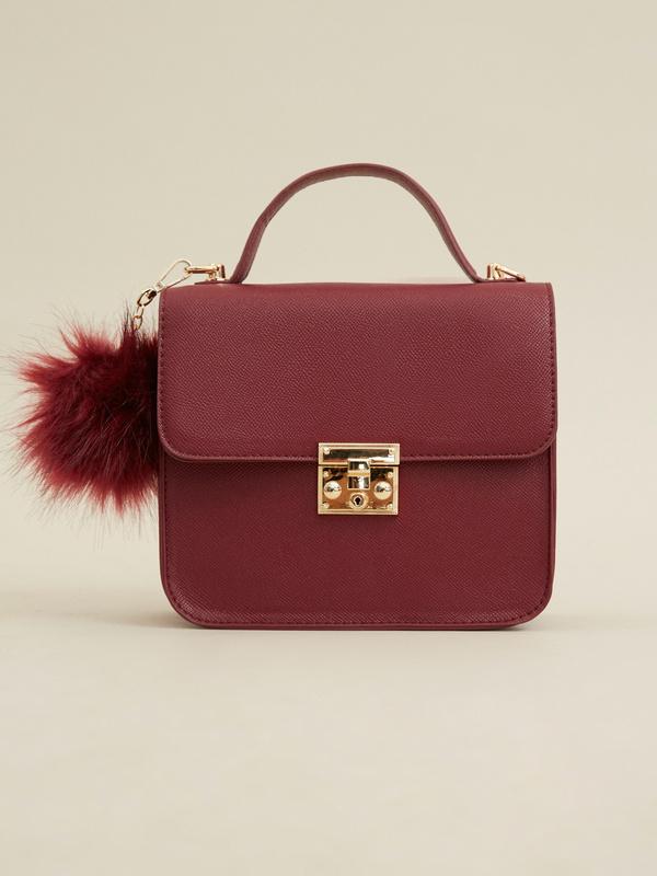 Мини-сумка с брелоком - фото 2