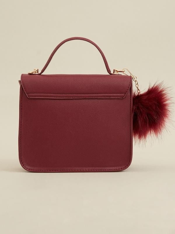 Мини-сумка с брелоком - фото 4