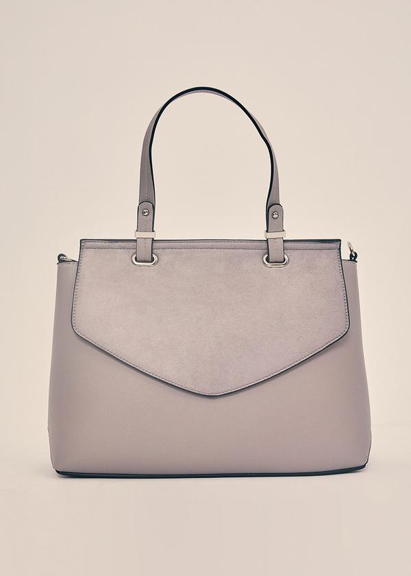 Фактурная сумка с длинным ремешком - фото 1