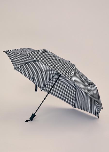 Зонт с принтом гусиная лапка - фото 2