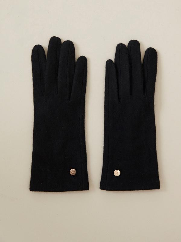 Перчатки  шерсть - фото 1