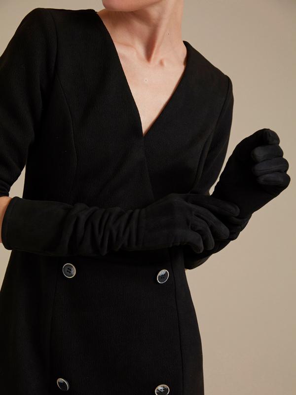 Длинные перчатки - фото 1