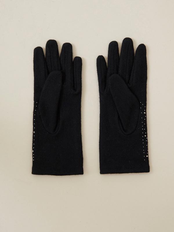 Перчатки со стразами - фото 2