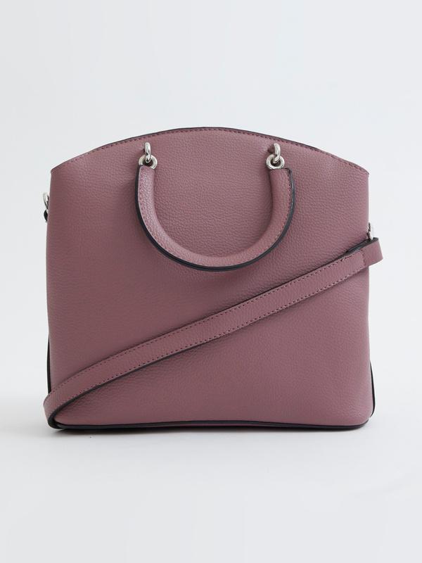 Фактурная сумка на длинном ремешке - фото 4