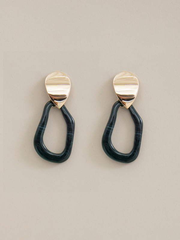 Комбинированные серьги с подвесками - фото 2