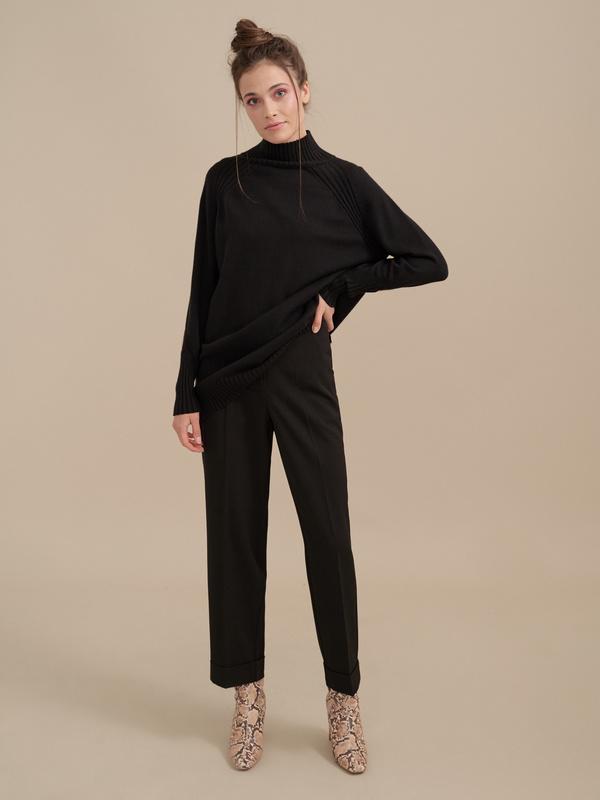 Укороченные брюки со стрелками - фото 2