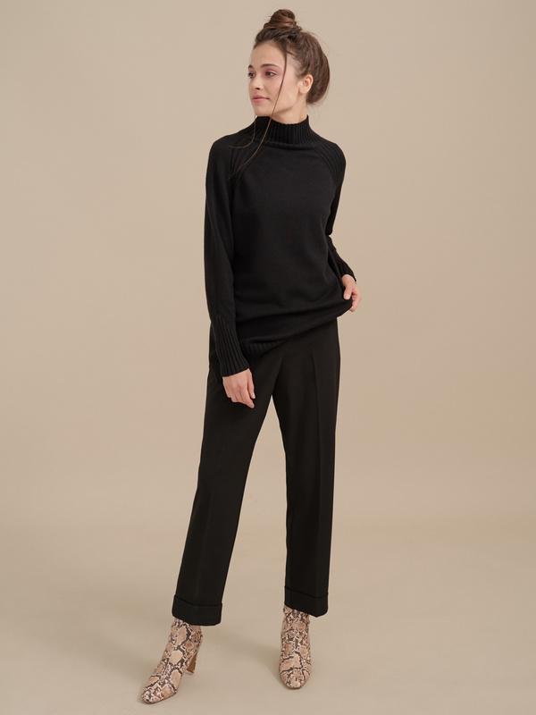 Укороченные брюки со стрелками - фото 3